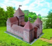 "Aue-Verlag 20 x 13 x 19 cm ""Field Castle"" Model Kit"