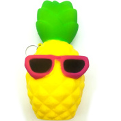 Cool Pineapple Squishy Stress Toy with Key ring chain