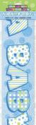 3.7m Prism Blue Boy Baby Shower Banner
