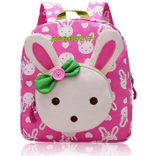 Vox Animal Rabbit/Bear Kids Backpack Girls School Bag Baby Backpack Kindergarten for Preschool