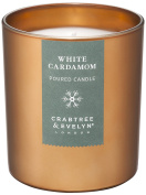 Crabtree & Evelyn White Cardamom Candle, Large, 200 g