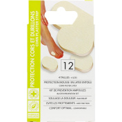 HYPOALLERGENIC DRESSINGS protection for BLISTERS, CORN, and CALLUS X 12