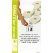 HYPOALLERGENIC DRESSINGS, plasters protection for CORN, and CALLUS x 18