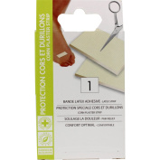 HYPOALLERGENIC DRESSINGS, plasters protection for CORN, and CALLUS, cutting strip 9,7 x 6,7 cm