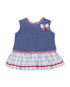 Tutto Piccolo Baby Girls' Fifí Dress, Blue (Indigo), 68