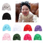 BrilliantDay 10 PCS Turban Winter Warm Cap Hat Children's Lovely Soft Hat#5