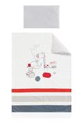 pirulos Hello Dr – Duvet Cover and Pillowcase, 100 x 135 cm