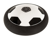 Hillington ® Indoor Floating Hover Football – Glides on a Cushion of Air to Turn Any Floor into A Football Pitch – Works on Flat Surfaces and Even on Low Pile Carpets – Soft Bumper Protects Furniture and Fingers – Enjoy Playing Football Whatever the We ..