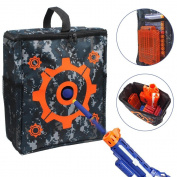 . Target Pouch Storage Carry Equipment Bag for Nerf N-strike Elite / Mega / Rival Series