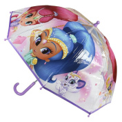 Shimmer and Shine 2400000350 Bubble Umbrella, Purple, 45 cm