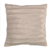 Living & Co Cushion Channel Taupe 50cm x 50cm