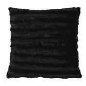 Living & Co Cushion Channel Black 50cm x 50cm