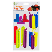 Assorted Food Bag Clips Set - Keep Food Bags Closed Tightly