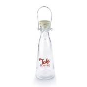 Vintage glass bottle 50 cl by Tala - red