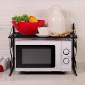 lzzfw Microwave Racks Kitchen Shelves Condiment Bottles Storage Rack Oven Rack