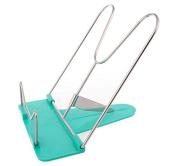 Recipe Tablet Document Cookbook Stand Portable foldable Holder Folds Flat