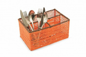Villa d 'Este Home Tivoli 2417403 Cutlery Holder High, Paper, Orange