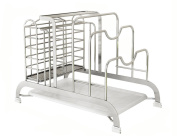 Anna Kitchen Shelves Stainless steel multi - purpose kitchen racks frame cutting board scaffolding cage board cover