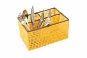 Villa d 'Este Home Tivoli 2417401 Cutlery Holder High, Paper, Yellow