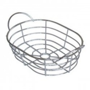 Chrome Wire Fruit bowl by Chabrias Ltd