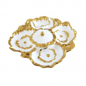 houyuanshun Fruit Tray Creative Ceramic Home Gambling Dried Fruit Plate Ornament Fruit Plate