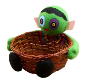 COMVIP Halloween Candy Holder Sweet Biscuit Fruit Basket For KTV Party Zombie