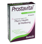 Health Aid Prostavital Men's Health and Wellbeing One-a-Day - Pack of 30 Capsules