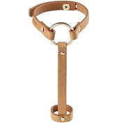 Maze/Hand Harness Bracelet Brown
