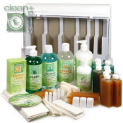 Clean+Easy Waxing Spa Kit by Clean And Easy Wax Products