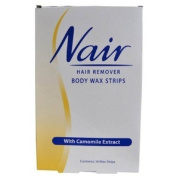 NAIR BODY WAX STRIPS [Health and Beauty] by Nair