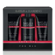 Baylis & Harding Grooming Trio, Amber and Sandalwood