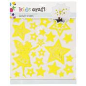 Kids' Art & Craft Glow Stickers Assorted