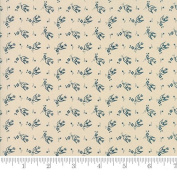 Moda Fabric Sweet Blend Swallows Stone - Sold Per 1/4 Metre