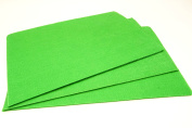 10 x A4 Felt Sheets - Green - Arts & Craft Fabric Material