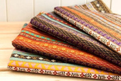 4 Fabrics Exoticas African Tribal Colours 50 x 70 cm for pillows, cushions Upholstery Chairs, Handbags, Hangings, Crafts, Sewing, Everyday, Cover, Home Open Buy...