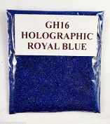(GH16 - Holographic Royal Blue 10g) Cosmetic Glitter Glitter Eyes Glitter Tattoo Glitter Lips Face And Body Bath Bombs Soap