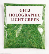 (GH13 - Holographic Light Green 10g) Cosmetic Glitter Glitter Eyes Glitter Tattoo Glitter Lips Face And Body Bath Bombs Soap