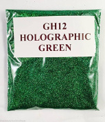 (GH12 - Holographic Green 10g) Cosmetic Glitter Glitter Eyes Glitter Tattoo Glitter Lips Face And Body Bath Bombs Soap