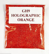 (GH9 - Holographic Orange 10g) Cosmetic Glitter Glitter Eyes Glitter Tattoo Glitter Lips Face And Body Bath Bombs Soap