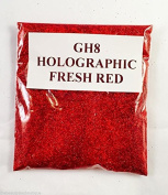 (GH8 - Holographic Fresh Red 10g) Cosmetic Glitter Glitter Eyes Glitter Tattoo Glitter Lips Face And Body Bath Bombs Soap