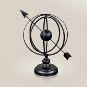 Iron Globe Interior Decoration Business Gifts , black