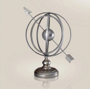 Iron Globe Interior Decoration Business Gifts , silver