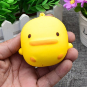 Squeeze Toys, OverDose 1PC Yellow Duck Stress Relief Slow Rising Soft Toy Gift for Children and Adult