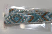 Ribbon Pearl Rhinestones Hotfix Bling Custom Design 10 cm x 3 cm
