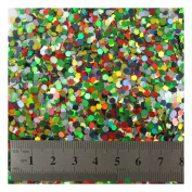 15g LARGE HOLOGRAPHIC GLITTER *4 SIZES *5 COLOURS * CRAFTS NAIL ART CARD MAKING (Mixed 0.3cm