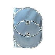 10 x AMARAY 2 Disc Clear (Twin Tray) in Dragon Trading Branded Packaging