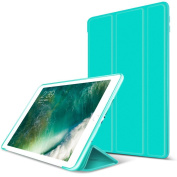 Dteck(TM) Case for New iPad 2017 25cm - Ultra Slim Lightweight Smart-shell Stand Cover with Multiple Angle for Apple All-New iPad 25cm 2017 Tablet, Green