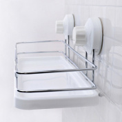 stable Shelf, Bathroom Strong vacuum Sucker Free nails Free drill Simple and elegant