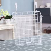 stable Shelf, kitchen bathroom Incorporated garbage bag Multifunction storage rack Simple and elegant