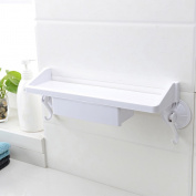 stable Shelf, Strong Sucker bathroom kitchen Simple and elegant